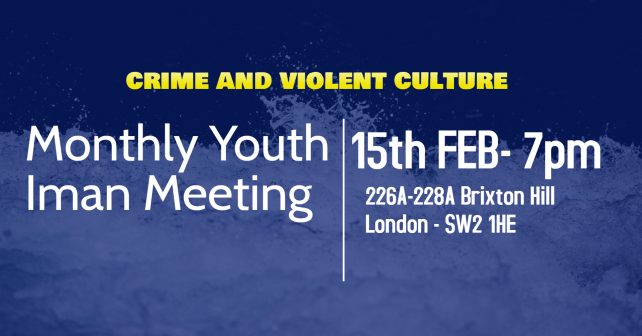 Crime and Violent Culture