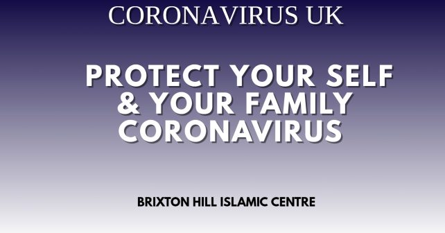 Coronavirus Protect Yourself and Your Family